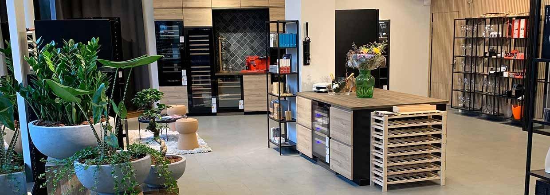 Se billederne fra vores nye showroom i Stockholm