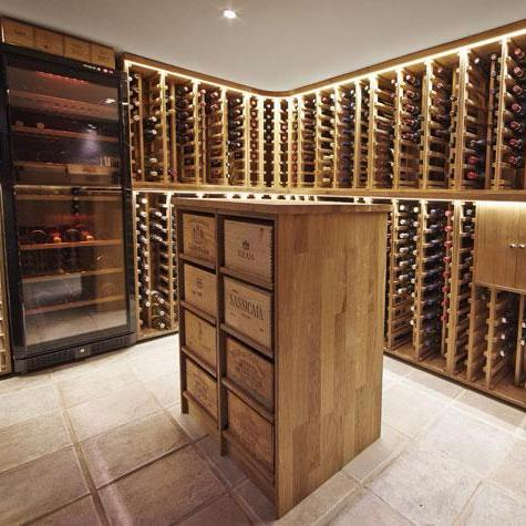 Wine Cellar With Winerex Wine Racks
