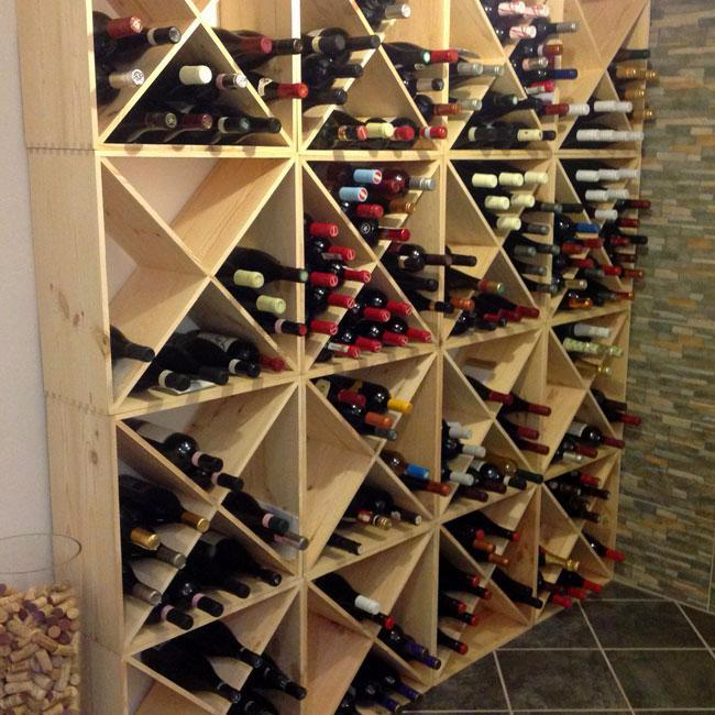 Wine Cellar With Elba Wine Racks