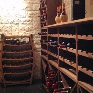 Wine Cellar With Lago, Boca And Gavi Wine Racks
