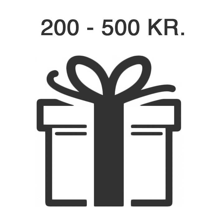 Gaveideer 200-500 Kr.