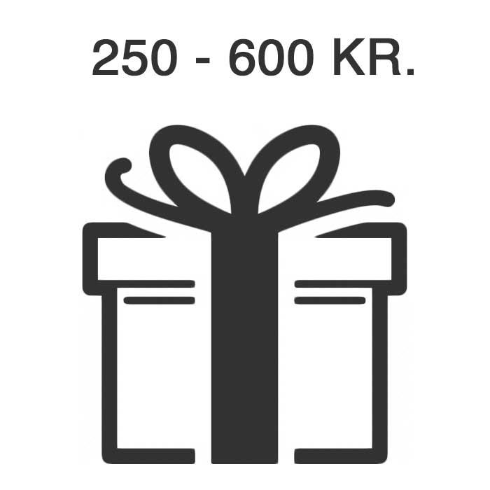 Presenttips 250-600 Kr.