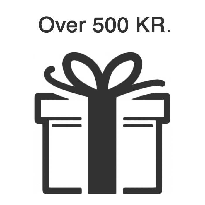 Gaveideer Over 500 Kr.