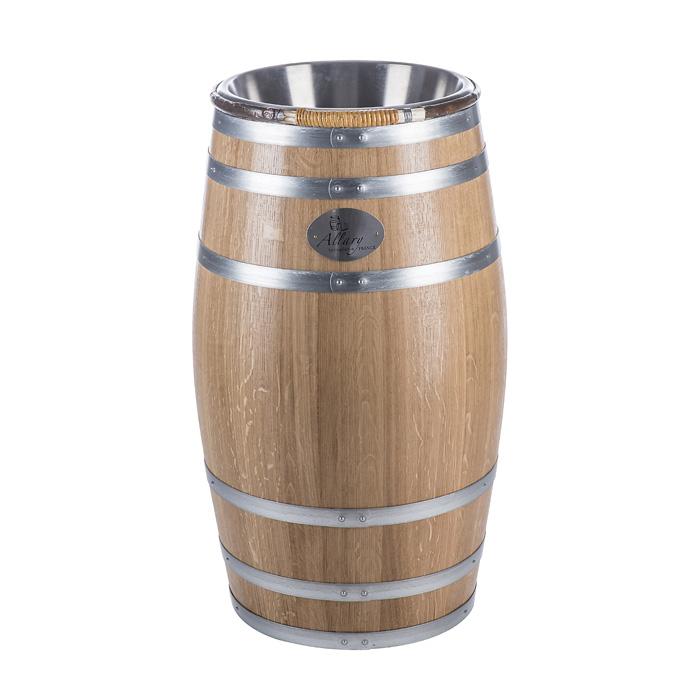 Wine Barrel With Spit Bucket