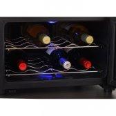 Caso WineCase vinkøleskab 8 flasker, Sort