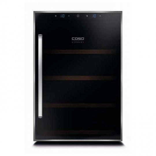 Caso WineDuett Touch 12 - CS625 - 2 zoner - 12 flasker - GRATIS fragt