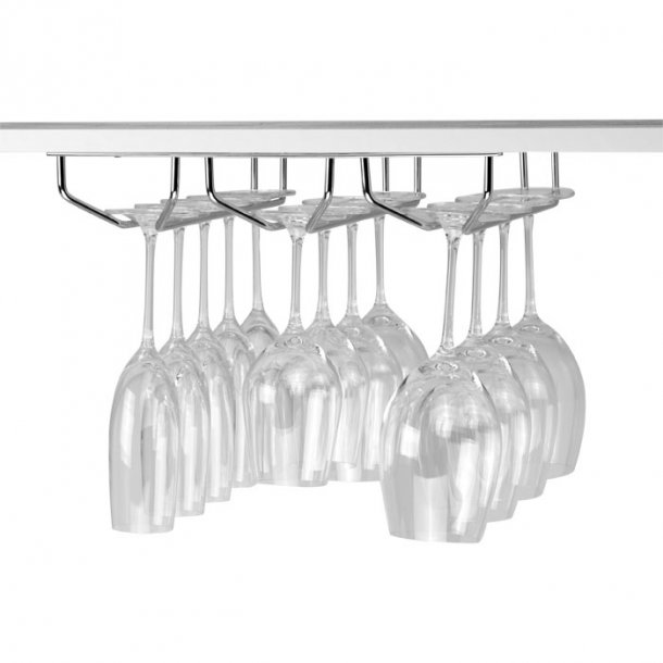 Wine glass Hanger - Triple row - Hanging