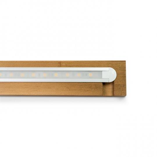 LED Lysliste til 1 modul på 68 cm, komplet sæt i EGETRÆ