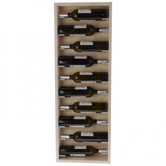 Menzia Vinreol 10 flasker Hvid/Hvid