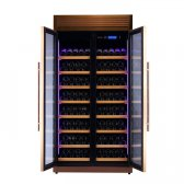 Pevino Pro 320 flasker 1 zone rose gold