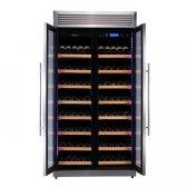 Pevino Pro 280 flasker 1 zone rustfri stål