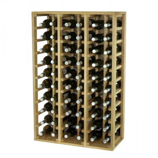 WINEREX Vinreol DESI til 60 flasker i HVID