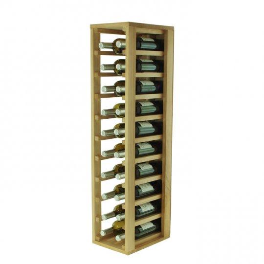 WINEREX vinreol FRACO til 20 flasker (1/3 modul) i HVID