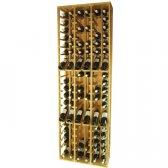 WINEREX Vinreol FLOR med display til 108 flasker