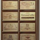 WINEREX vinreol ESTELA til 8 vinkasser (6-styks kasser)