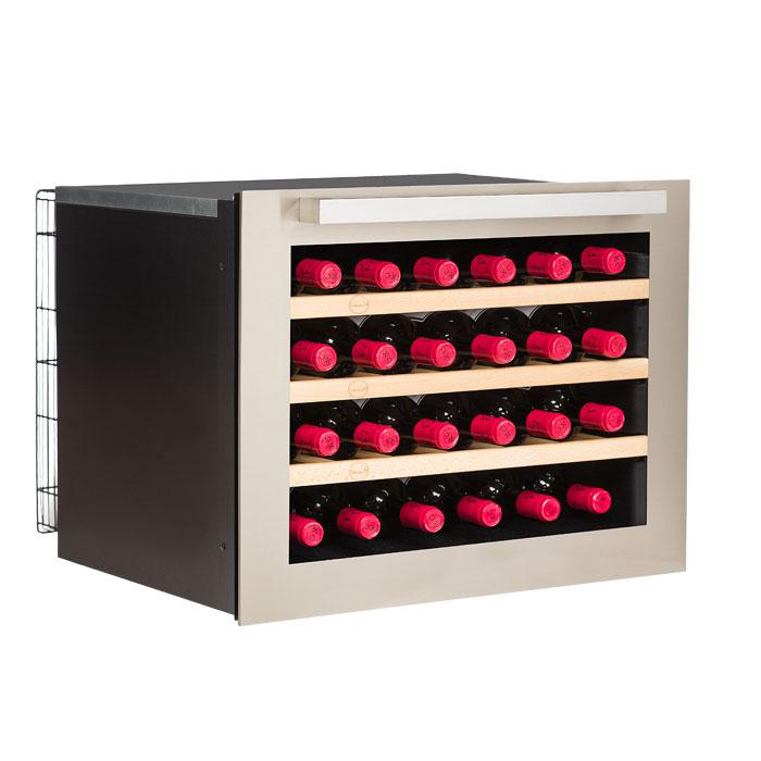 Vinskab Vinobox til 24 flasker 1 zone, indbygning