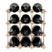 Mensolas vinreol 12 flasker