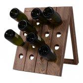Pupitre vinreol til 16 flasker