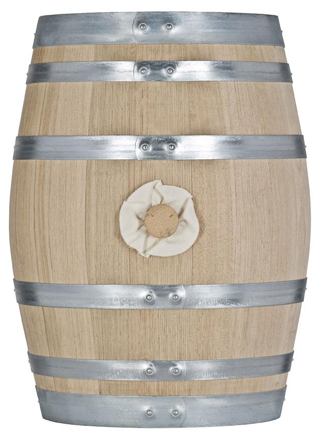 Image of 110 liter vinfad fransk eg Heavy ristning (H)