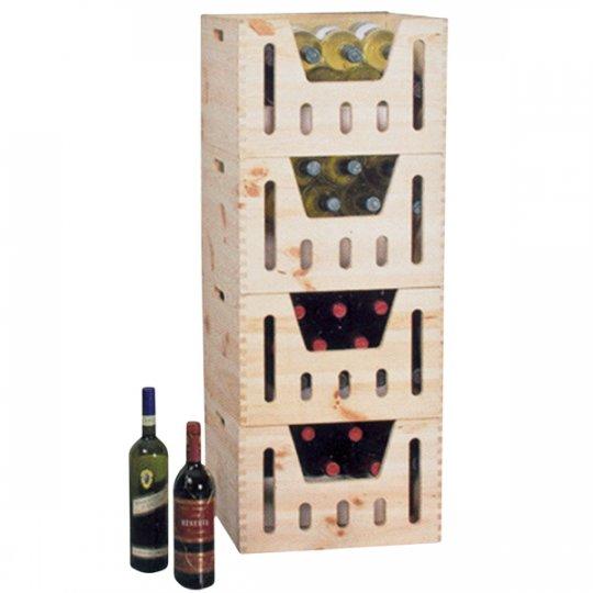 Trækasse ALTO til 12 vinflasker
