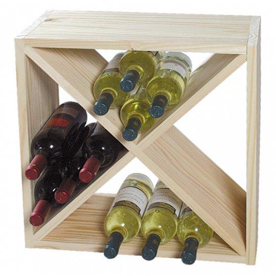 Vinreol ELBA fyrtræ ca. 24 flasker
