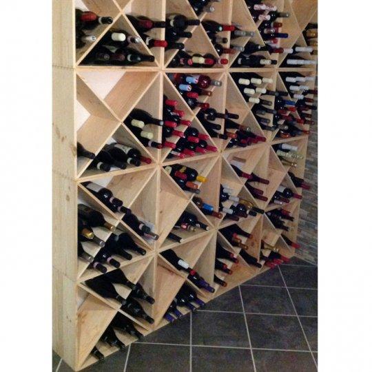 ELBA - Vinreol i fyrretræ ca. 24 flasker