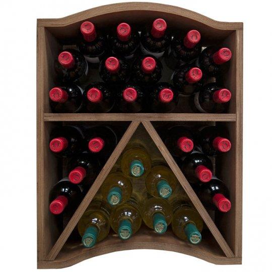 Vinreol AGAR modul stabelbar til 30 flasker