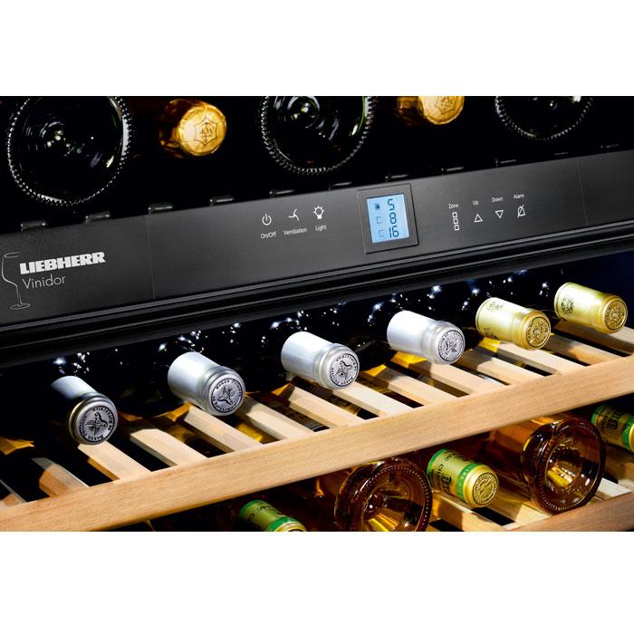 liebherr vinidor wtes 5872 178 flaskor 3 kylzoner fri frakt. Black Bedroom Furniture Sets. Home Design Ideas