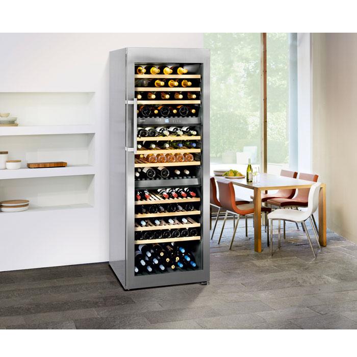 liebherr vinidor wtes 5872 178 flasker 3 zoner gratis fragt. Black Bedroom Furniture Sets. Home Design Ideas