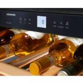 LiebHerr GranCru vinkøleskab 18 flasker, 1 zone integrerbar