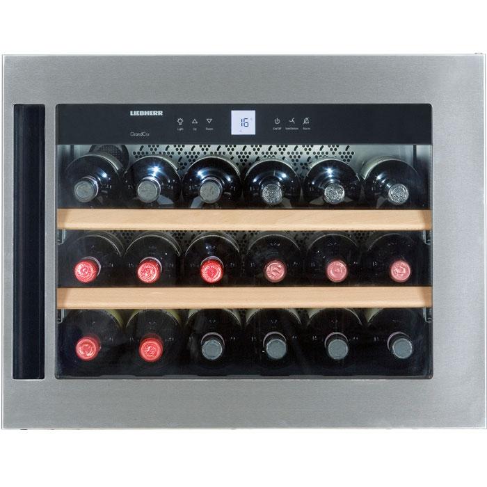 liebherr grandcru wkees 553 18 flasker 1 zone gratis fragt. Black Bedroom Furniture Sets. Home Design Ideas