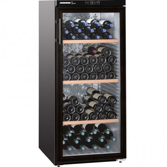 LiebHerr Vinothek vinkøleskab 164 flasker sort fritstående