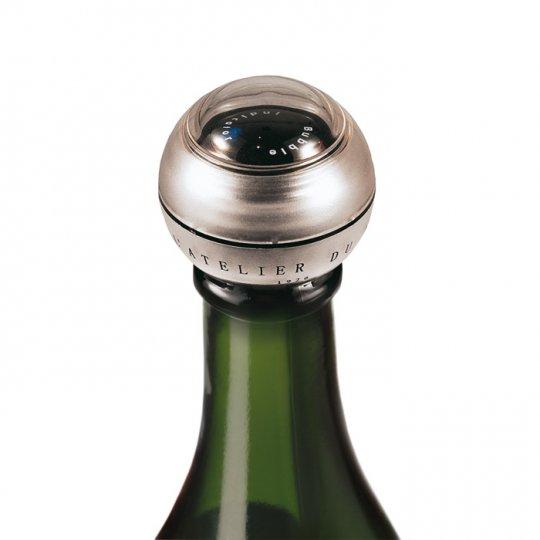 Champagneprop med bobbel indikator