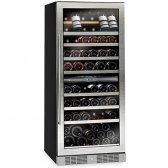 AVINTAGE vinkøleskab 115 flasker, 2 zoner indbygning
