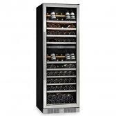AVINTAGE vinkøleskab 146 flasker, 2 zoner indbygning