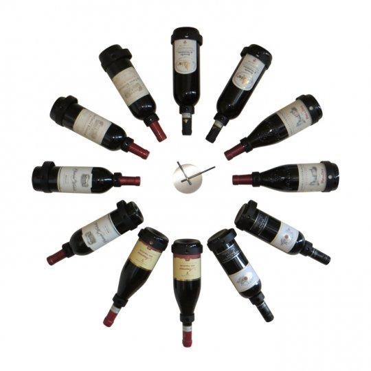 Vinholder Vini til 12 flasker med ur