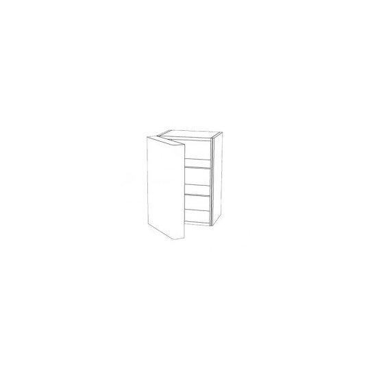 Venstrehængt dør på vinkøleskab