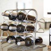 Hahn Pisa vinreoler til 12 flasker krom