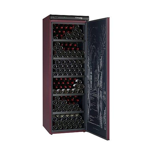 Climadiff vinkøleskab, solid dør, 264 flasker, 1 kølezone