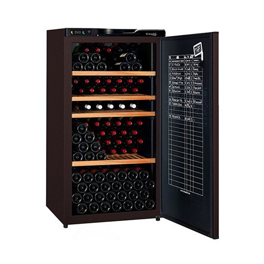 Climadiff CLA210A+ - 196 bottles - Single zone - Solid door