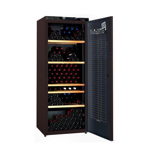 Climadiff vinkøleskab, solid dør, 294 flasker, 1 kølezone