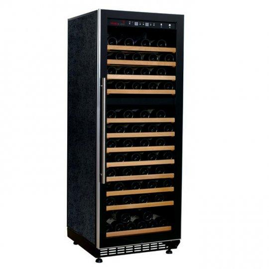 Swisscave vinkøleskab 110 flasker med 2 kølezoner