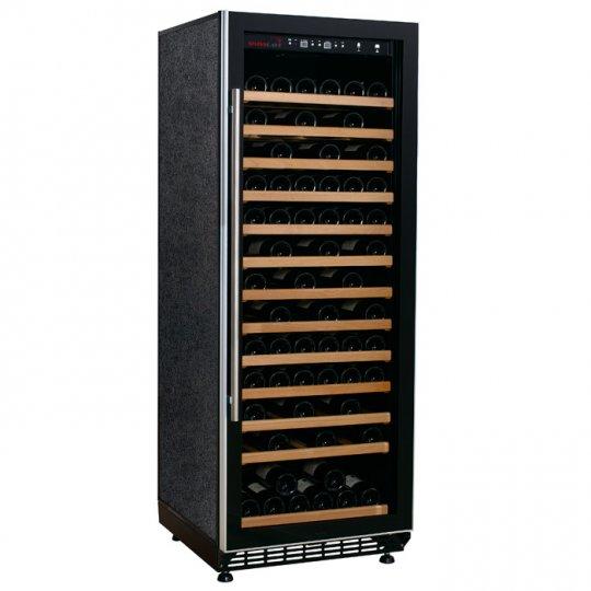 Swisscave vinkøleskab 120 flasker med 1 kølezone