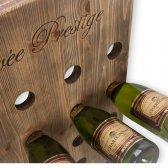 Pupitre vinreol til 48 flasker