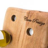 Pupitre vinreol til 8 flasker