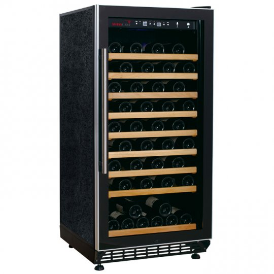 Swisscave vinkøleskab 90 flasker med 1 kølezone