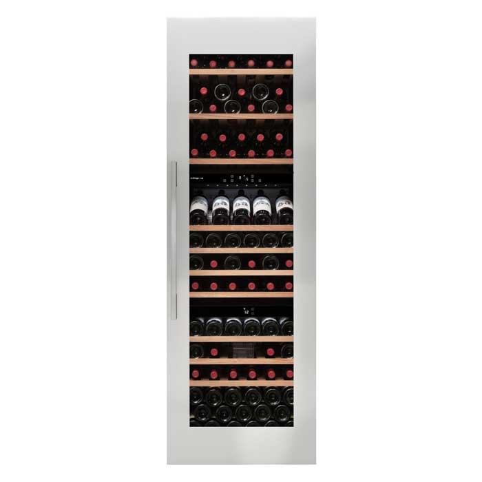 avintage avi97x3zi 97 flasker 3 zoner integrerbart st l gratis levering. Black Bedroom Furniture Sets. Home Design Ideas
