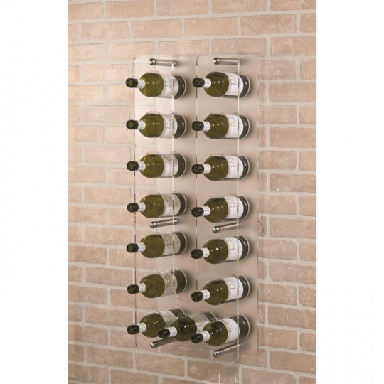 Como - Akryl väggvinställ 15 flaskor