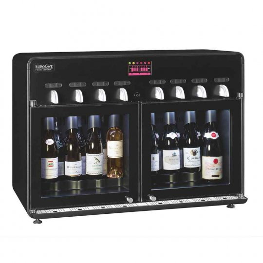 EuroCave - Vin au Verre 8.0 - Vinserveringsanlæg - 8 flasker