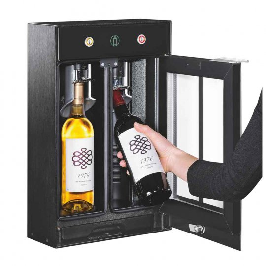 EuroCave Wine Bar 2.0 - Vakuumsystem - 2 flasker
